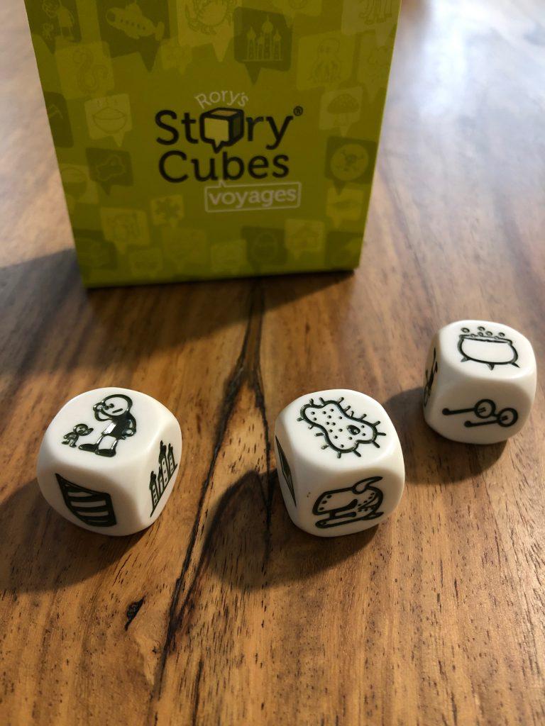 Mon utilisation des Story Cubes verts