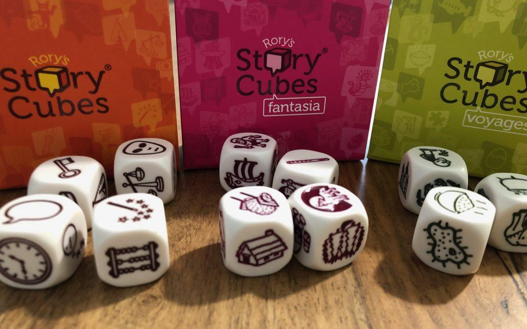 Utilisation des Story Cubes pour créer un personnage