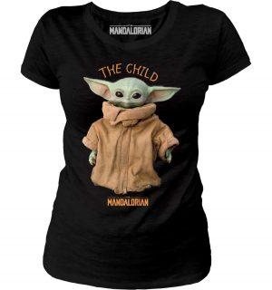 Tshirt femme Baby Yoda