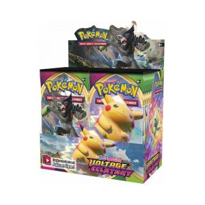 Display de 36 boosters Pokémon Voltage Éclatant (EB4)
