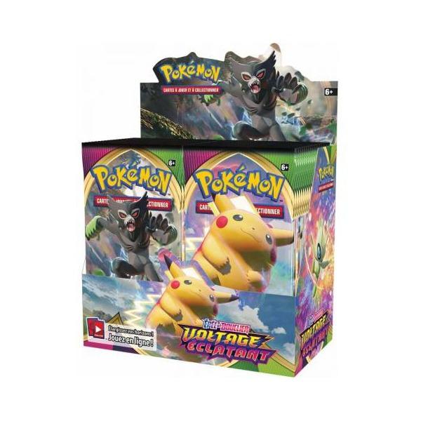 Display de 36 boosters Pokémon Voltage Éclatant (EB4)