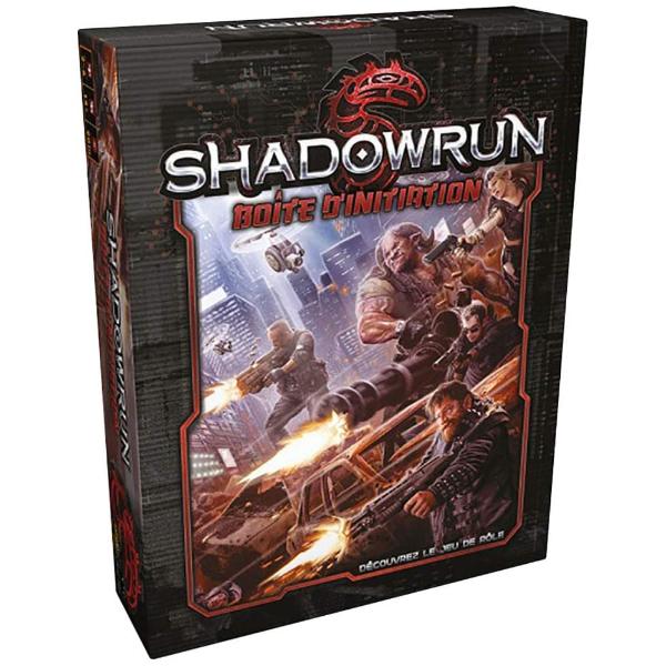 La boîte d'initiation Shadowrun v5