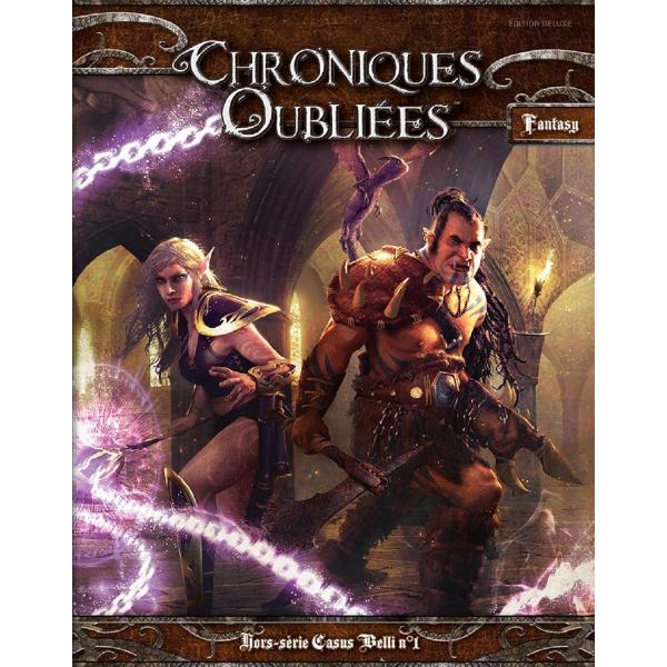 Chroniques Oubliées Fantasy, la première de couverture