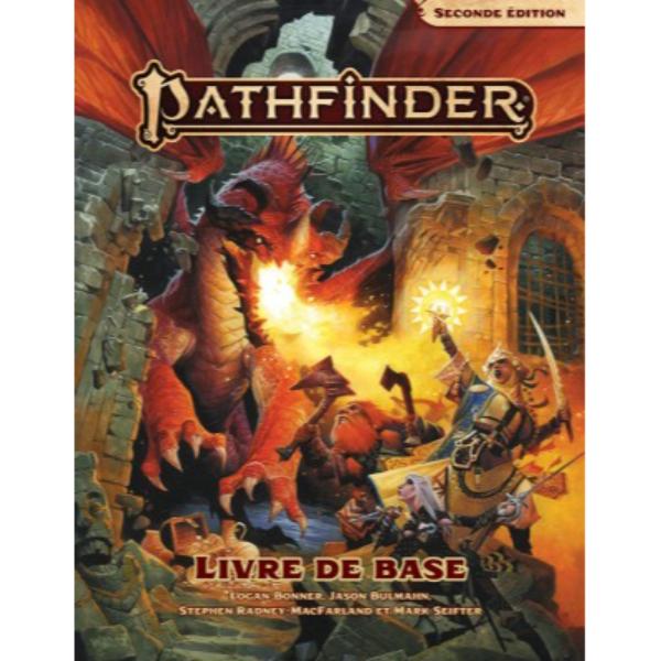 La couverture de Pathfinder 2 : Livre de base