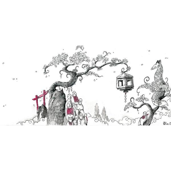 L'Empire des Cerisiers, une illustration