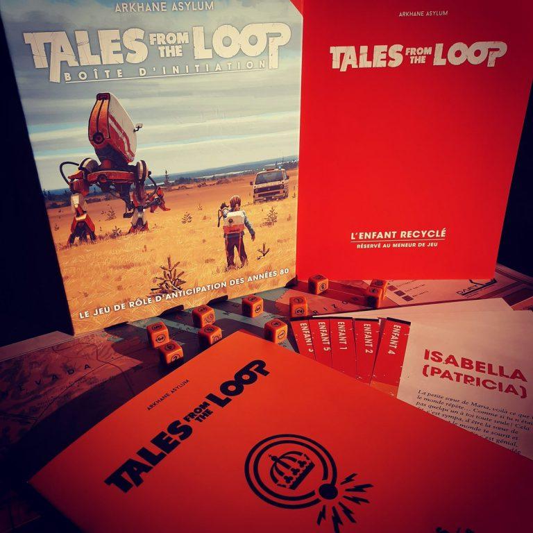 Le contenu de Tales from the Loop : la boîte d'initiation