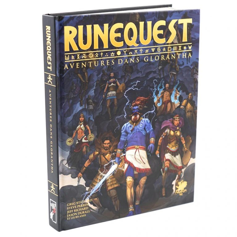 Runequest, aventures dans Glorantha