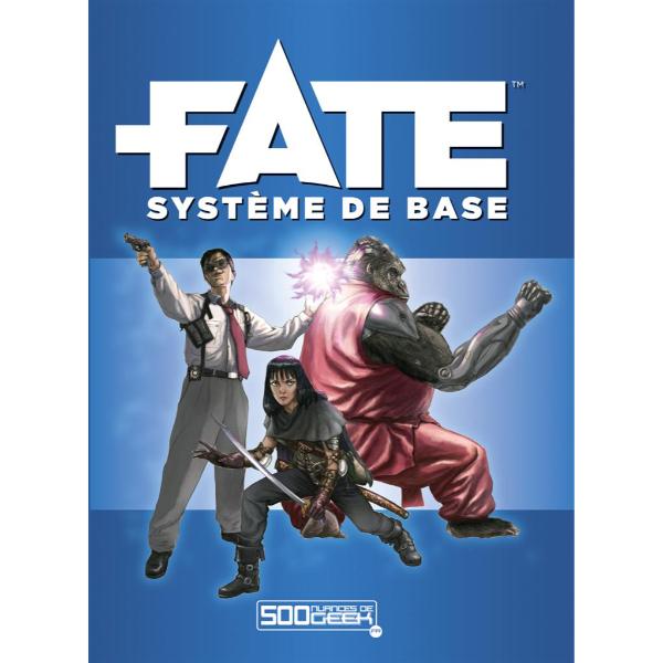 La couverture de Fate : Système de Base